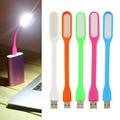1 unids Nuevo Ultra Brillante 1.2 W Led lámpara USB para el Cuaderno Cuello de metal Flexible LED luz USB ordenador PC Portátil Portátil plegable