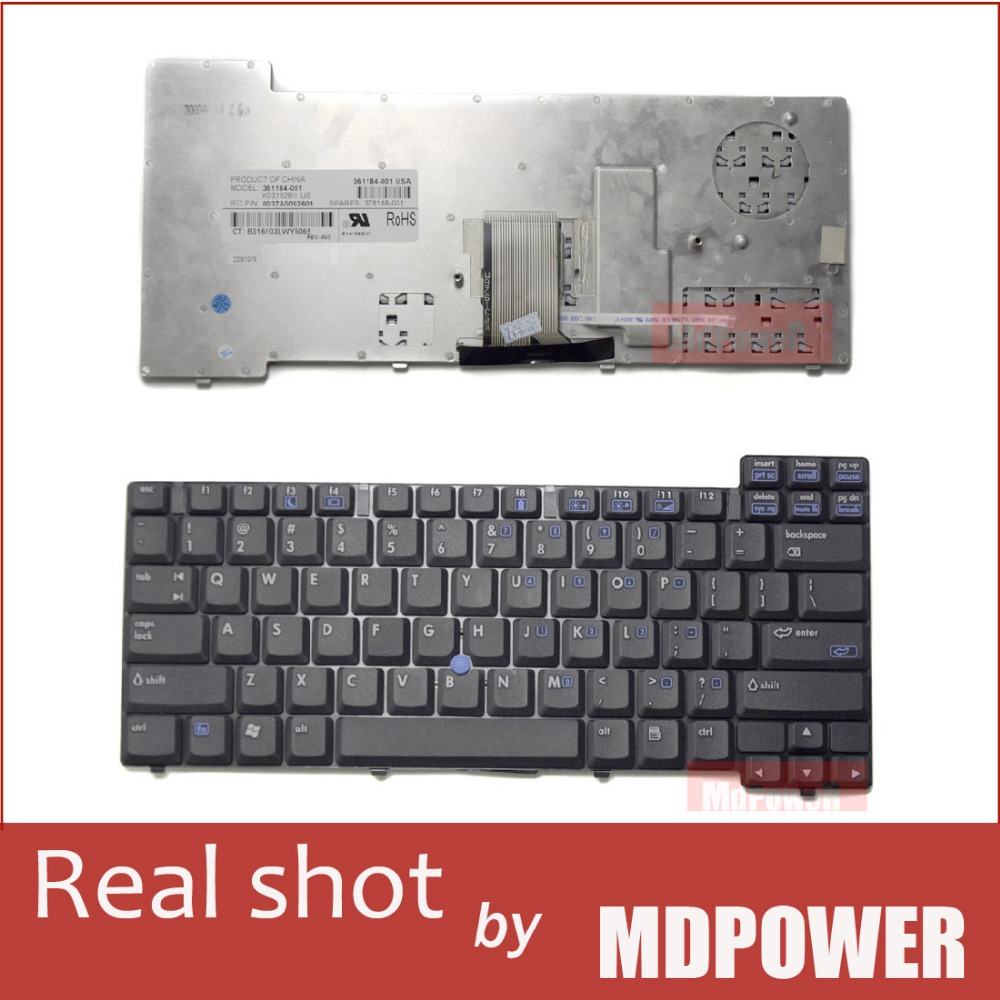 FOR HP NX7400 NC8220 NC8230 NC8240 NC8430 laptop keyboard