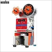 Xeoleo автоматическая чашка запайки 95/90 мм автоматический уплотнитель чашки Bubble tea машина Печать PP/PC/PE чашка 460 чашек/h 220 V/50-60 Гц