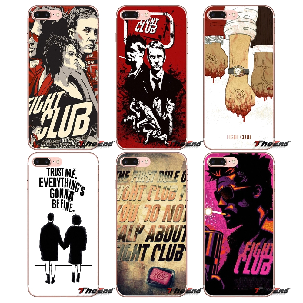 Accessories Fight-Club Xiaomi Mi6 Phone-Cases-Covers 3-Plus Redmi 5 5A For 6-a1/Max/Mix/..