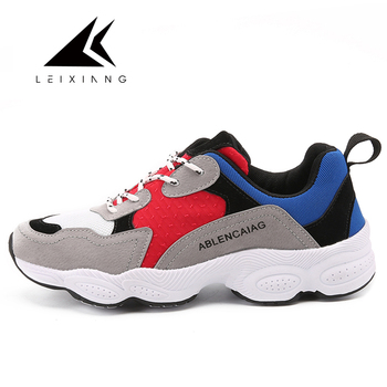 2017 Women Running Shoes Breathable High Quality Sapatilha Feminina Footwear Walking Sneakers Light Comfortable Salmon Shoes salmon