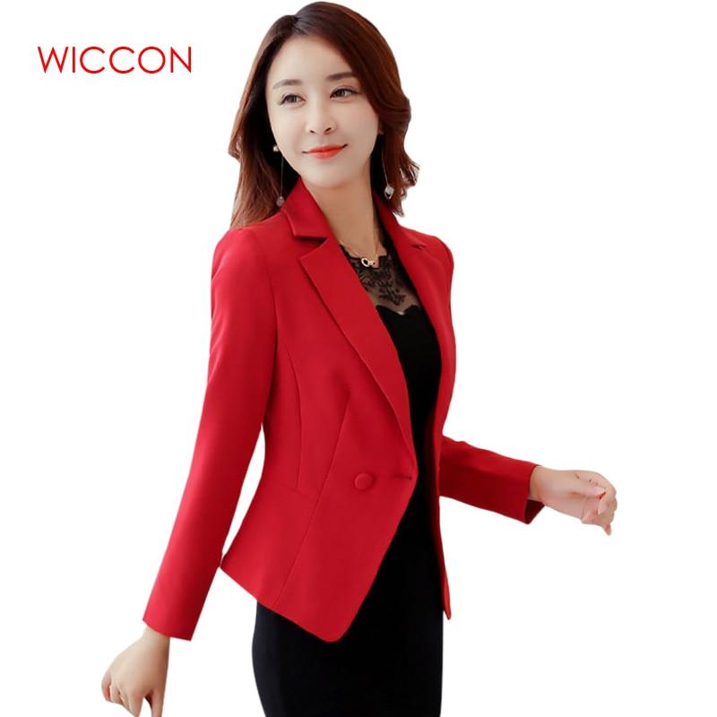 Ladies Blazers Coats Plus Size 3xl Office Wear Work Long Sleeve Suit