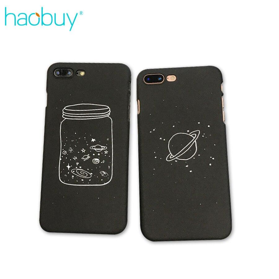 Univers de la mode Bouteille Coque Noir toile Mat Cas de T l phone Pour iPhone