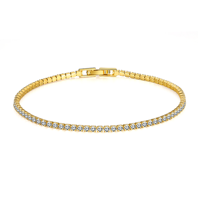 765509d9002 ORNAPEADIA Europe Pop Latest Women Classy Design Gold Plating bracelet  Factory Direct Sale CZ Link Chain Bracelets Wholesale