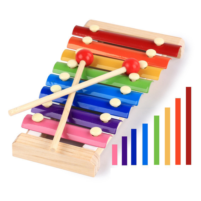 Xylophone with Wooden Sticks
