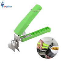 Upspirit Multifunction Stainless Steel Bowl Clip Handheld Anti-Scald Plate Holder Cute Microwave Oven Kitchen Accessories Clamps