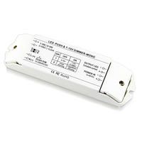 BC-331-CC 0/1-10 V עמעום נהג 350MA 700MA 1050MA קבוע הנוכחי LED PWM דימר DC12V-DC48V עבור Led הרצועה