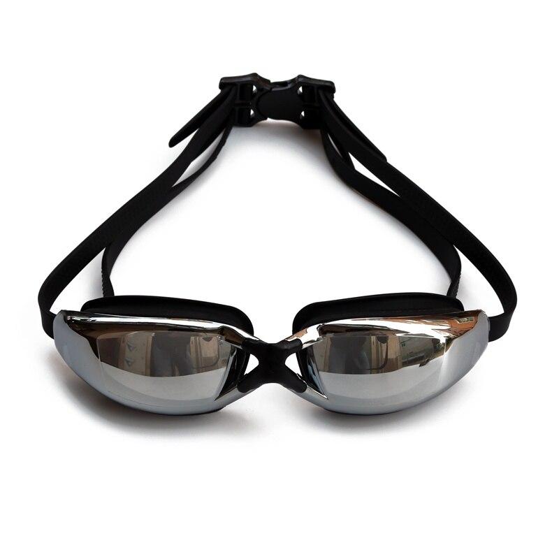 2018 Adulto Hd Colorful Placcatura Piatto Nuoto Occhiali Anti-nebbia Impermeabile Occhiali Professionali Placca Swim Occhiali
