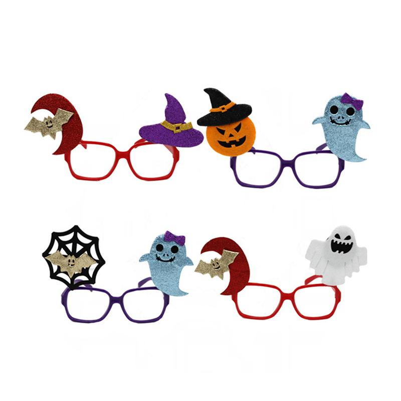 10 Pieces Halloween EyeGlasses Spider Bat Toy glasses for Halloween Costume Party Favors Gift for Boys and Girls
