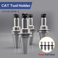 4 Pcs CAT40 Spannzange CAT40 ER16-4 Werkzeug Halter CNC maschine zentrum