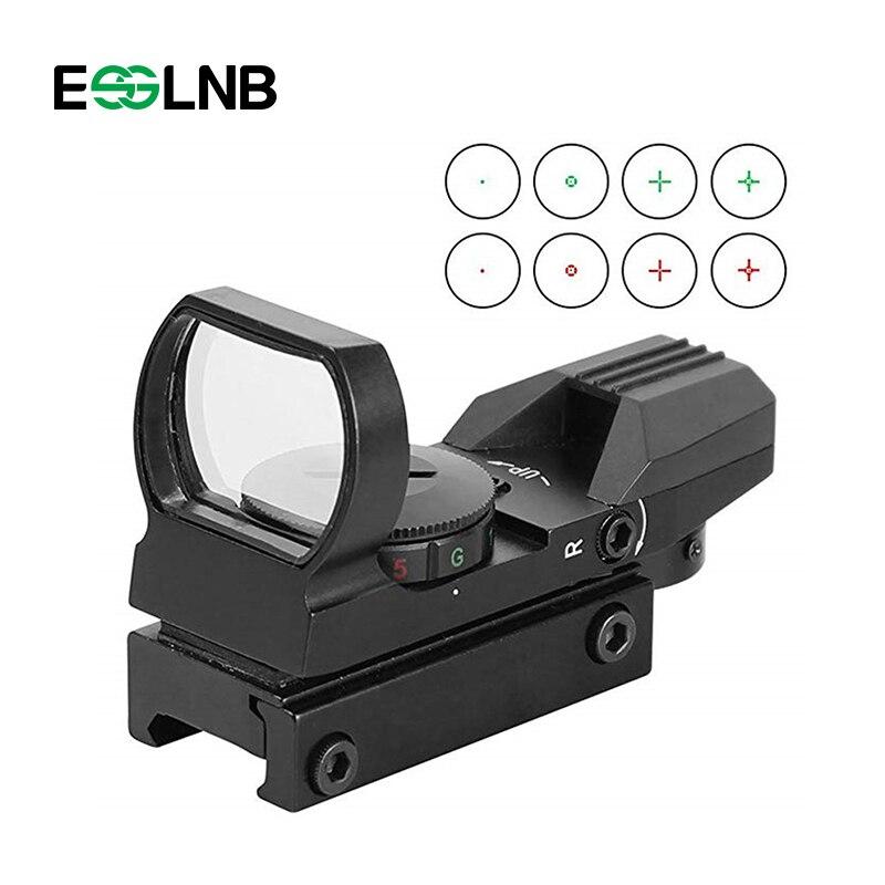 20mm Ferroviaire Lunette Chasse Optique Lunette De Visée Reflex Optique Sight Pour La Chasse Airsoft Tactique Sniper Chasse Vue