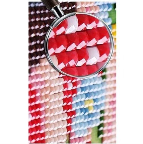 A1193 Dekorimi në shtëpi Mozaik 3DIY Ngjitje Panda 100% Resin - Arte, zanate dhe qepje - Foto 2