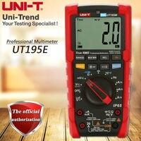 UNI T UT195E Industrial True RMS Digital Multimeter Flashlight, LoZ Voltage Measurement