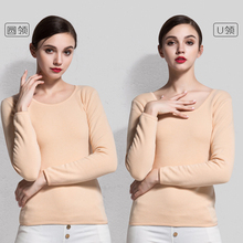 Velet Thermal Tops Warm Clothing Women Cotton Thermal Shirt