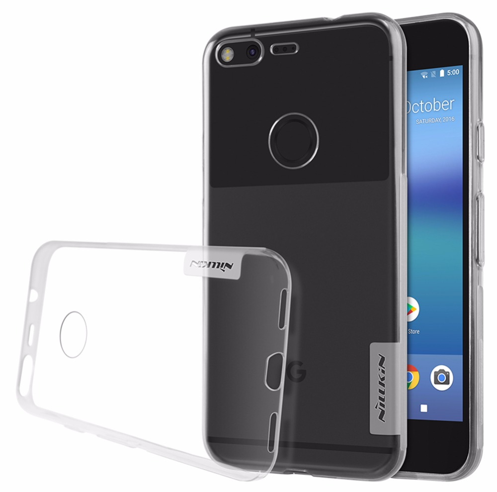 Tpu Case For Google Pixel Xl Nature Transparent Clear Soft Silicon TPU Protector Case Cover For Google Pixel Xl 5.5 Inch