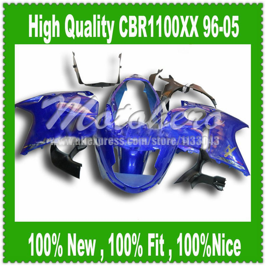 Fairing kit All Blue W3255f for Honda CBR1100XX 96 05 CBR1100 XX 96 05 1996 2005