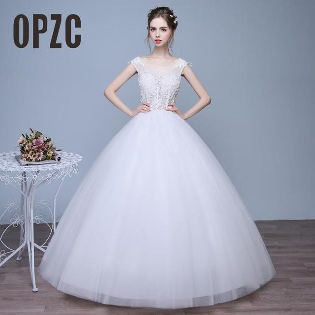 Real Photo Koreanischen stil Sexy Elegante Prinzessin Hochzeitskleid ...