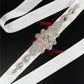 Fashion Women Sashes Chic Crystal Decorations Bridal Belts 2016 Hot Selling Women Belts Formal Wedding Party