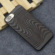 Природный Настоящее Дерево чехол для iPhone 7 Plus роскошные деревянные Вырезка задняя крышка для iPhone 7 s плюс мобильный Телефонные чехлы