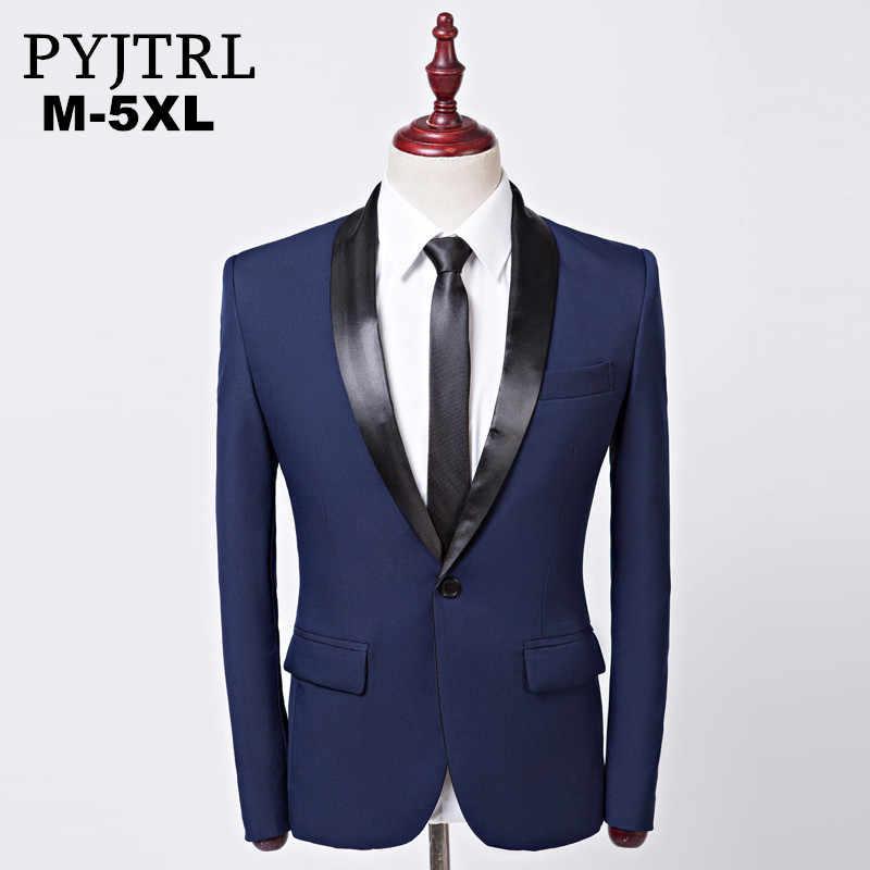 b3581007c Detail Feedback Questions about PYJTRL Mens Fashion Royal Blue Shawl ...