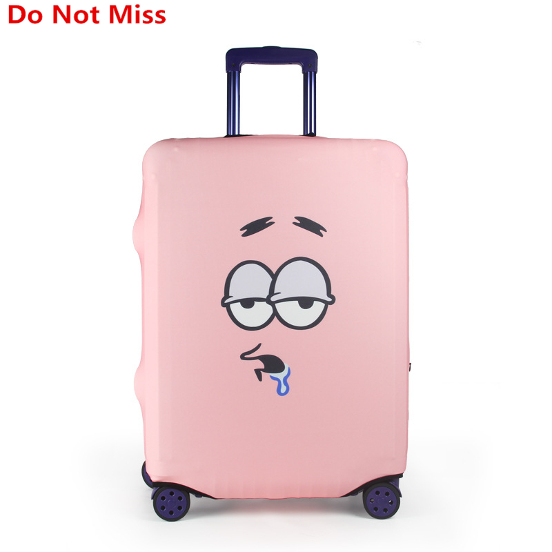 Do Not Miss New 2017 Cartoon Luggage Protective Covers For 18 32 Inch Travel Trolley Case