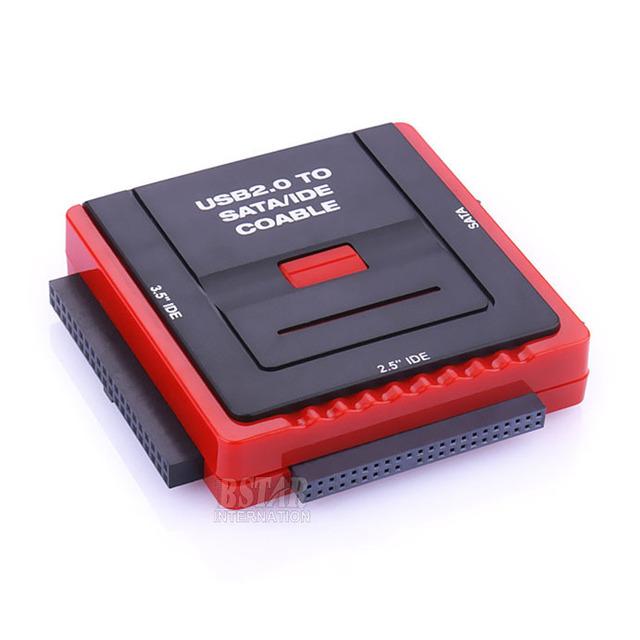 """Nueva Llegada de calidad superior Multi-función de estación de Acoplamiento USB 2.0 2.5 """"/3.5"""" Pulgadas SATA IDE HDD CD-Rom HDD Dock Station"""