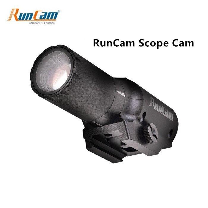 NEW RunCam Scope Cam 1080P 60fps MOV DC 5V -15V 4MP HD Camera Micro USB MAX Support 64G SD For RC Quadcopter RC Gun Game