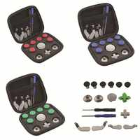 18pcs Elite Handle Accessories Modification For Xbox One Elite Gamepad Full Set Joystick Caps Wired Game Controller For XBOX One