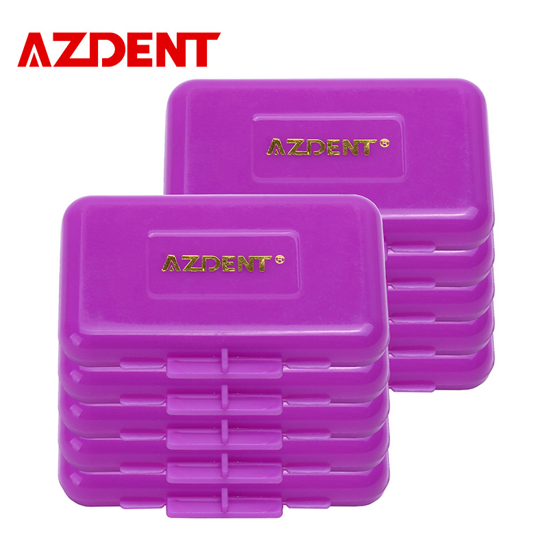 AZDENT 10piece Orthodontics Ortho Wax 4 Flavor Choice Teeth Whitening Dental Oral care For Braces gum irritation Orthodontic Wax b7 02 orthodontics malocclusion braces dental acrylic teeth dental teaching model ortho metal