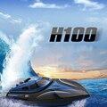 Skytech H100 2.4G Control remoto de alta Velocidad de 180 Grados Flip Eléctrica RC Racing Barco