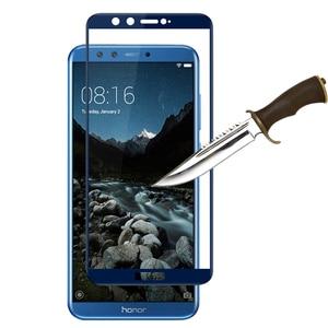 Image 4 - Закаленное стекло на honor 9 lite чехол для huawei honor 9 lite легкий honer 9 lite honor 9 защитный Glas Защитная экранная пленка защита