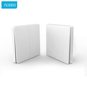 Image 2 - Aqara Smart Switch Light Remote Control ZiGBee wifi Wireless Key Wall Switch work with MiHome APP