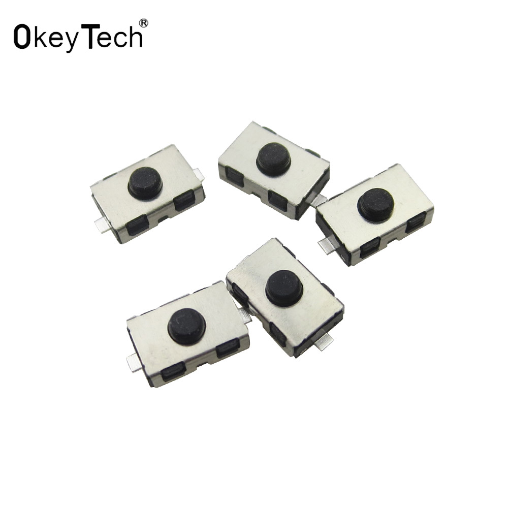 OkeyTech Tactile Push Button Touch Switch Car Keys Remote Microswitch Micro Switch For Citroen Peugeot Opel Push Tactile 6*3.8mm