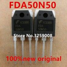 6piece FDA50N50 50A/500V 100% new imported original