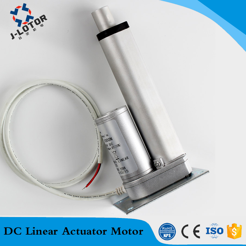 900mm linear actuator 12V DC 7-60mm/s 150-1300N dc window lift motor electric window actuator, Electric Bed Actuator motor