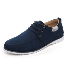 New Nice Spring Autumn Men Shoes Casual Male Footwear For Men Suede Leather Flat Men Fashion Zapatos Hombre P53