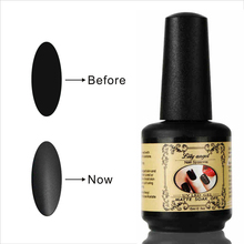 15ML Nail Polish Magic Super Matte Transparent Nails Art Gel Top Coat Frosted Surface Oil high quality Z20