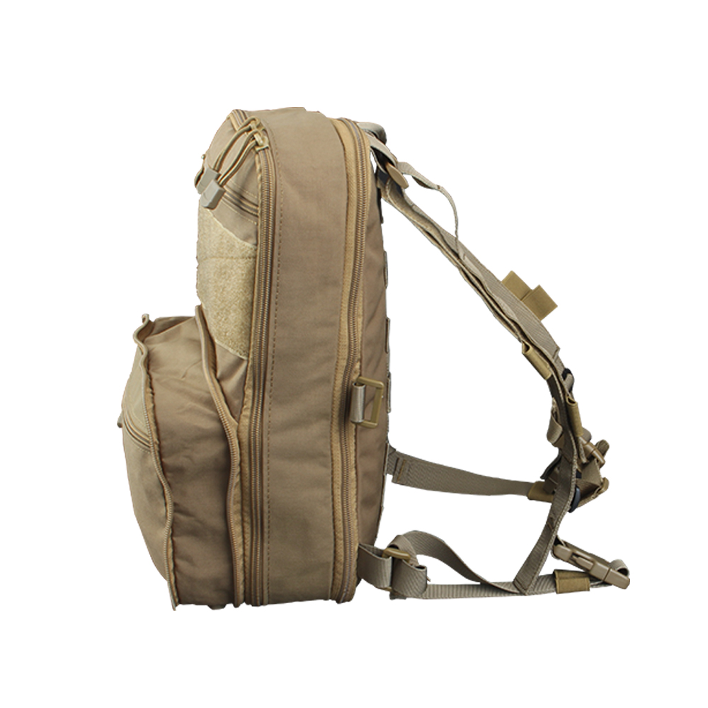 Flatpack D3 Plus Backpack Hydration CB Chest Rig Vest Armor Rifle AK M4 Pistol Magazine Pouch Outdoor Hiking Hunting Army Bag in Climbing Bags from Sports Entertainment