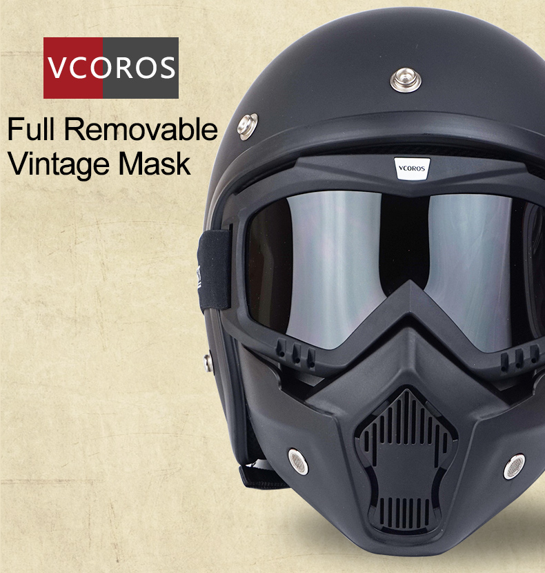 d381723b9e136 Nova VCOROS Modular Máscara Destacável Óculos E Boca máscara de ...