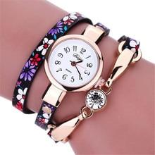 xiniu Luxury Women Bracelet Watches Rhinestones Wrap Around Leatheroid Quartz Wrist Watch relogio feminino orologi donna 2017