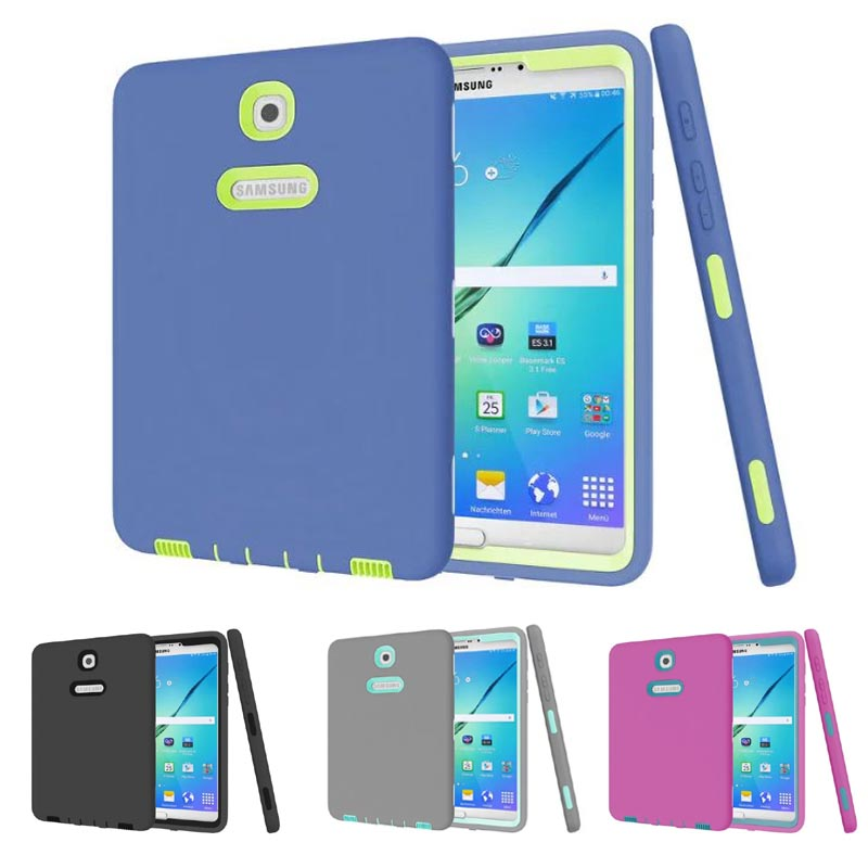 New listing luxury Tablet shockproof case cover For Samsung Galaxy Tab S2 8.0 T710 T713 T715 T719 child fashion Back cases lovemei shockproof gorilla glass metal case for galaxy note4 n9100