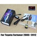 Láser de seguridad Luz de Niebla Luces/Para Toyota Fortuner SW4 2005 ~ 2012/Luces A Prueba de Accidente de Tráfico/luces de la matrícula instalado