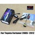 Segurança Laser Luz Luzes de Nevoeiro/Para Toyota Fortuner SW4 2005 ~ 2012/Tráfego Luzes de Crash-Prova/luzes da placa de licença instalado