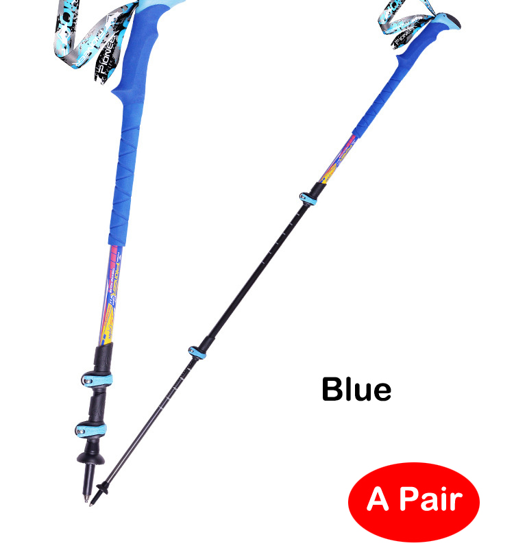 POINT BREAK two pieces [Pioneer- 18 series] Carbon Fiber Super Light Three Section Outside The Lock Climbing Stick шампунь selective professional golden power shampoo