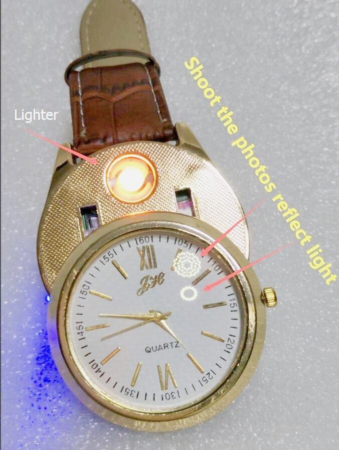 1pcs 2017 new Lighter Watches Men's Quartz Wristwatches USB Charging F880 sports watches Windproof Flameless Cigarette Lighter lighter watch men s sports casual quartz watches with leather strap windproof flameless cigarette lighter usb charging f665