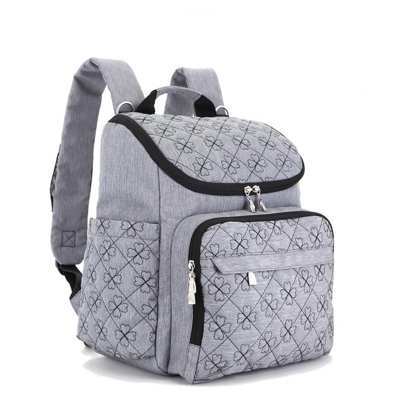 Детские коляски мешок мода Мумия сумки Большой пеленки рюкзак, Детские Организатор материнства сумки для мамочек Сумочка подгузник рюкзак