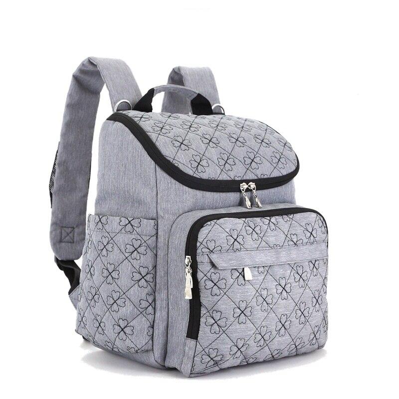 Bébé poussette sac mode momie sacs grand sac à couches sac à dos bébé organisateur maternité sacs pour mère sac à main Nappy sac à dos