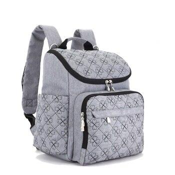 Bolso para cochecito de bebé, bolso para momia, bolso grande para pañales, mochila para el organizador del bebé, bolsos de maternidad para la madre, mochila para pañales