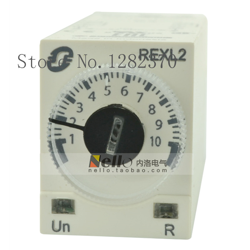 [ZOB] Authentic original time relay DC24V 8 feet REXL2TMBD 0.1s-100h  --5pcs/lot[ZOB] Authentic original time relay DC24V 8 feet REXL2TMBD 0.1s-100h  --5pcs/lot