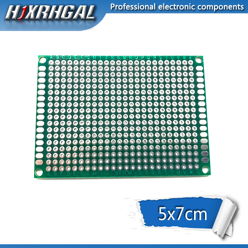 1pcs 5x7cm 5*7 Double Side Prototype PCB Diy Universal Printed Circuit Board Hjxrhgal